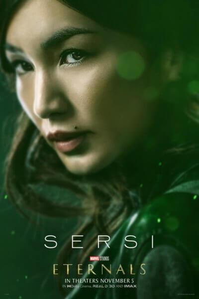 Eternals Gemma Chan Poster