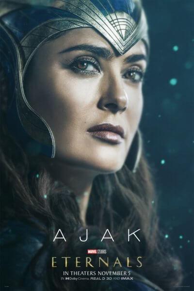 Eternals Salma Hayek Poster