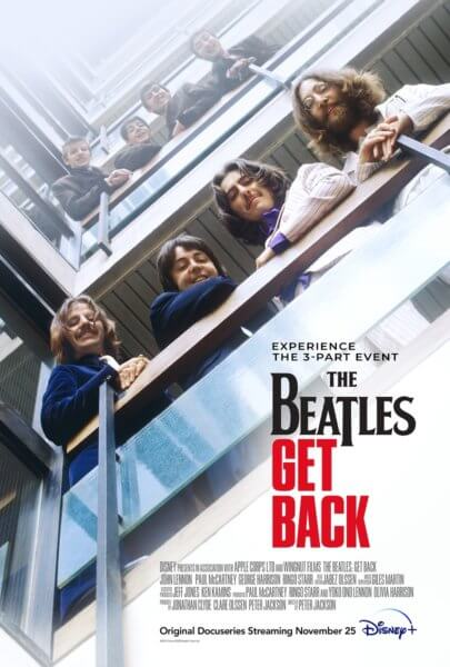 The Beatles: Get Back Poster