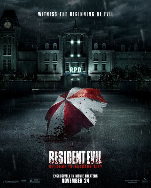 Resident Evil Welcome to Raccoon City Poster