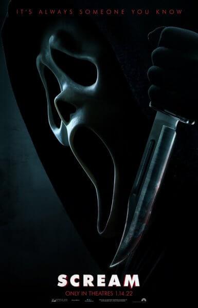 Scream 2022 Film Poster